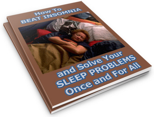Pay for How to Beat Insomnia: Solve Your Sleep Problems PLR Reports