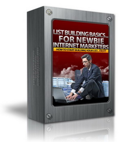 Pay for List Building Basics For Newbie Internet Marketers MRR /Giveaway Rights