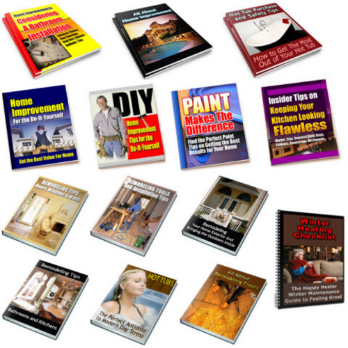 Pay for Home Improvement, Home Remodeling Plr Package