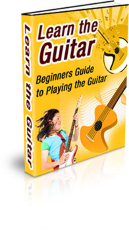 Pay for Beginners Guide to Playing the Guitar PLR Ebook