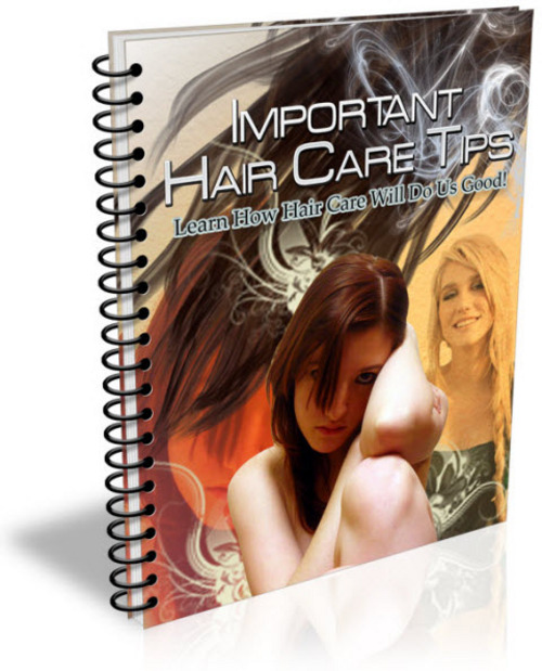 Pay for Important Hair Care Tips PLR Listbuilding Pack