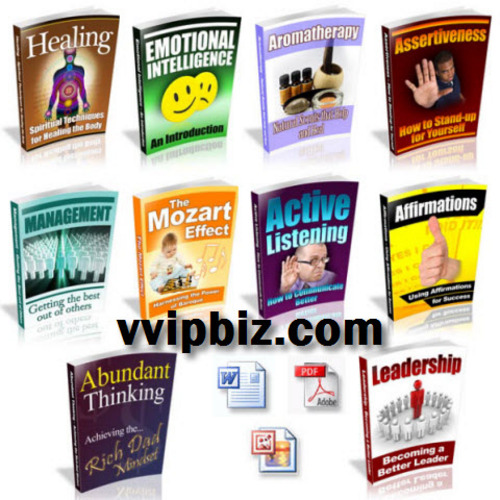 Pay for 10 Personal Development/ Self Improvement PLR eBooks Package
