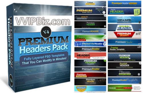 Pay for Premium Headers Pack V4