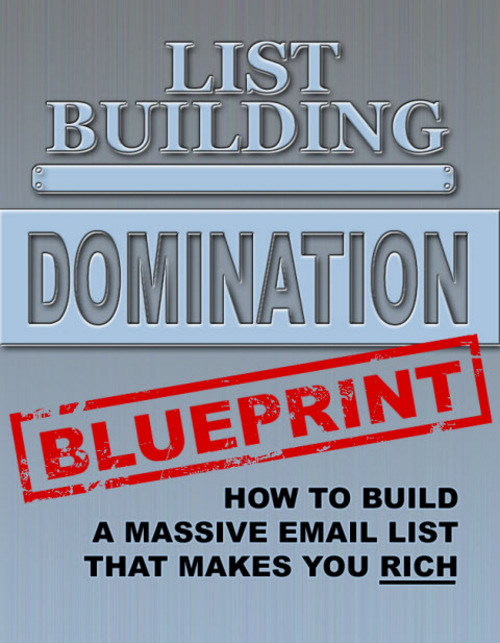 Pay for List Building Domination Blueprint PLR