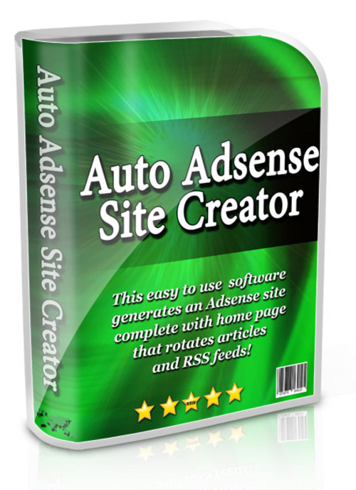 Pay for Auto Adsense Site Creator Resale Rights Software