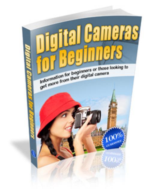 Pay for Digital Cameras for Beginners MRR eBook