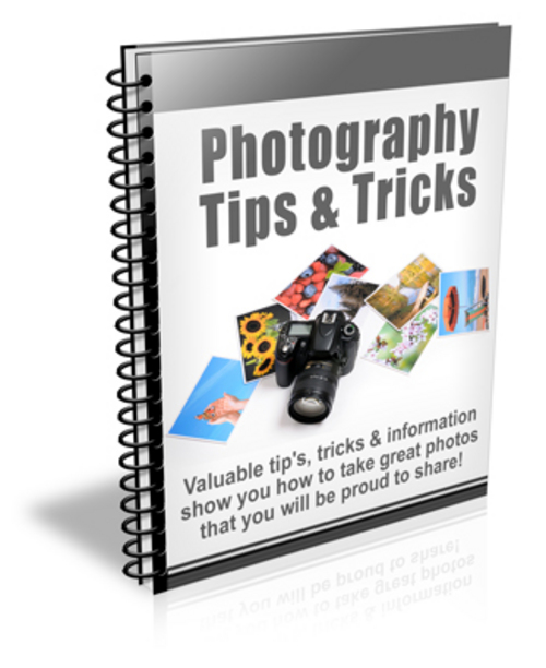 Pay for Photography Tips and Tricks PLR Newsletter