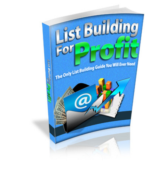 Pay for List Building For Profit MRR/ Giveaway Rights