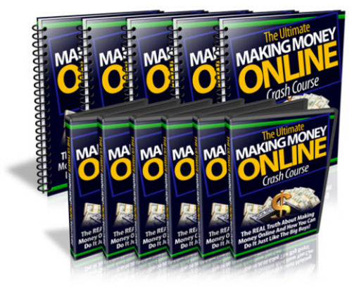 Pay for Ultimate Making Money Online Crash Course MRR/ Giveaway Rights