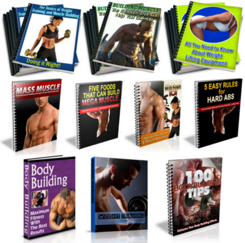 Pay for Bodybuilding, Muscle Building PLR Package