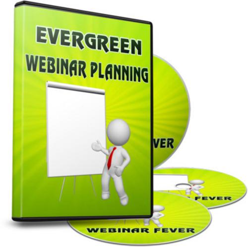 Pay for Evergreen Webinar Planning PLR Webinar Fever