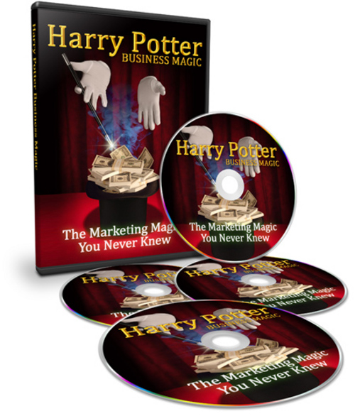 Pay for Harry Potter Business Magic Unrestricted PLR Videos