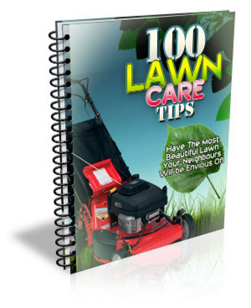100 Lawn Care Tips MRR Ebook with Giveaway Rights ...