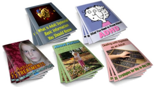 Pay for ADHD, Adult Dyslexia, Autism PLR Reports Package