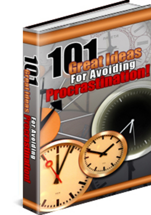 Pay for 101 Tips For Avoiding Procrastination Unrestricted PLR Ebook