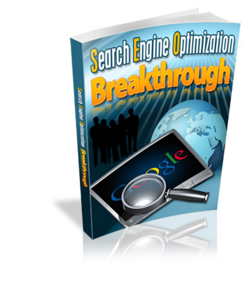 Pay for Search Engine Optimization Breakthrough MRR/ Giveaway Rights
