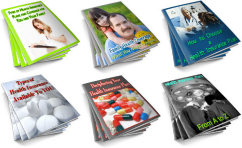 Pay for Health Insurance PLR Reports Package