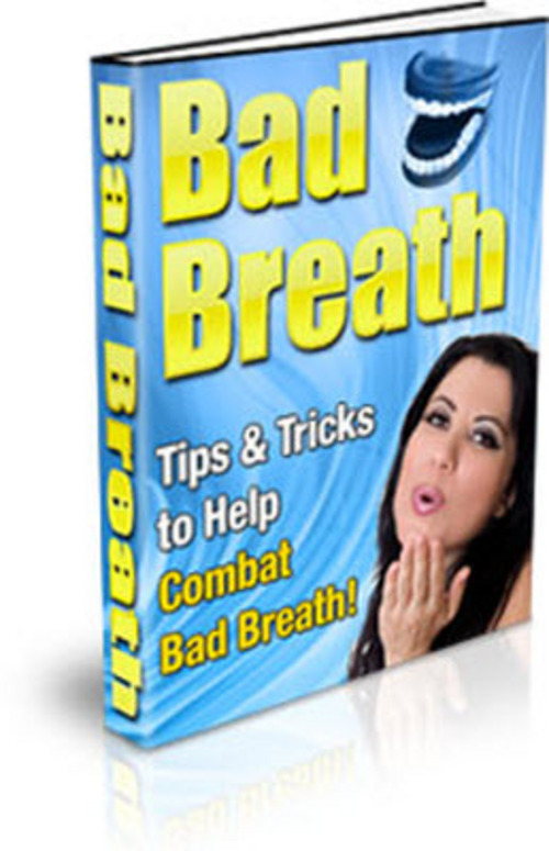 Pay for Bad Breath PLR Ebook