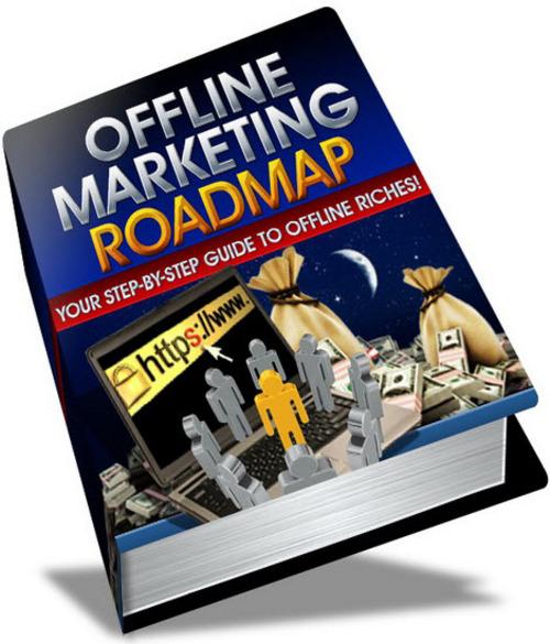 Pay for Offline Marketing Roadmap MRR eBook