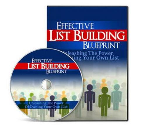 Pay for Effective List Building Blueprint Home Study Video Course