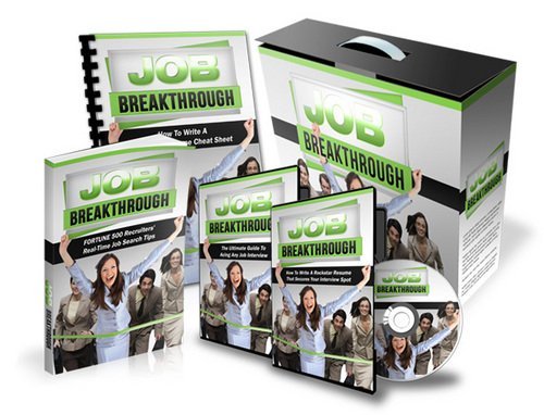 Pay for Job Breakthrough Video Course with MRR