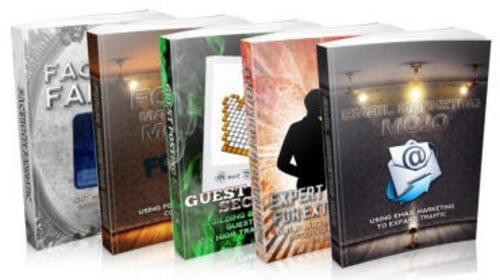 Pay for Super Traffic eBook Package - 5 eBooks Pack 2