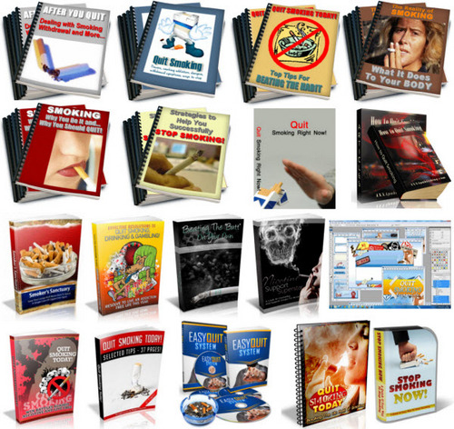 Pay for Quit Smoking, Stop Smoking PLR Reports Package with Special Bonus