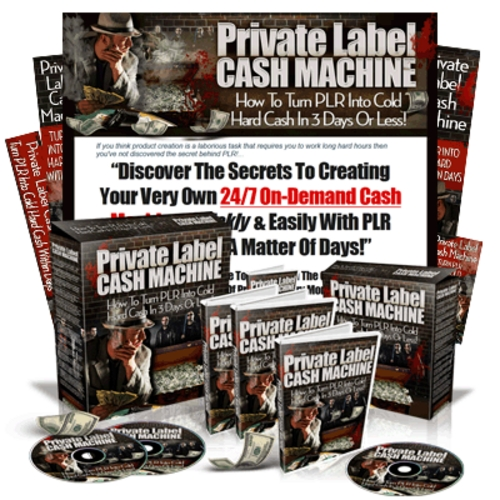 Pay for Private Label Cash Machine Video Course with MRR
