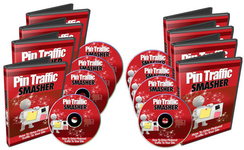 Pay for Pinterest - Pin Traffic Smasher Video Course with PLR