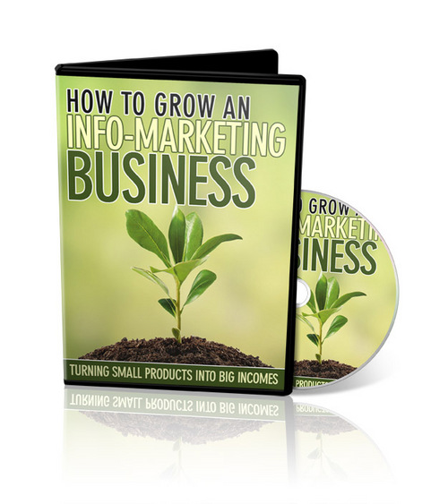 Pay for How To Grow An Info-Marketing Business - RR