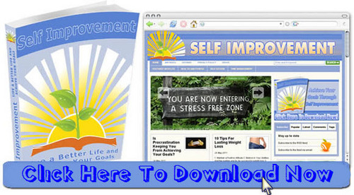 Pay for Personal Development/ Self Improvement Niche Blog Package