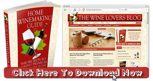 Pay for Wine Lovers Niche Blog With Matching PLR Ebook