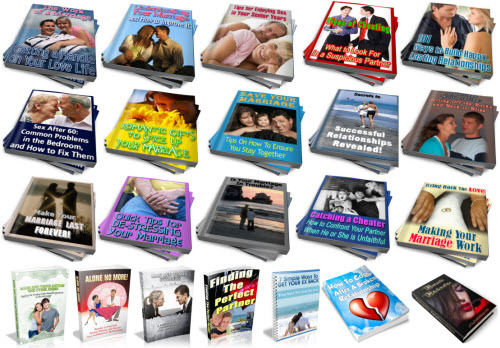 Pay for Relationships, Marriage PLR Reports Package with Special Bonus
