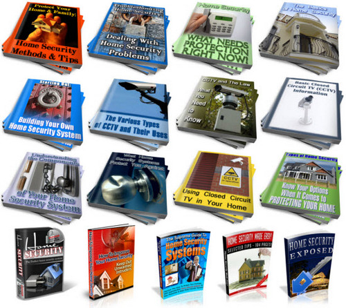 Pay for Home Security PLR Reports Package with Special Bonus