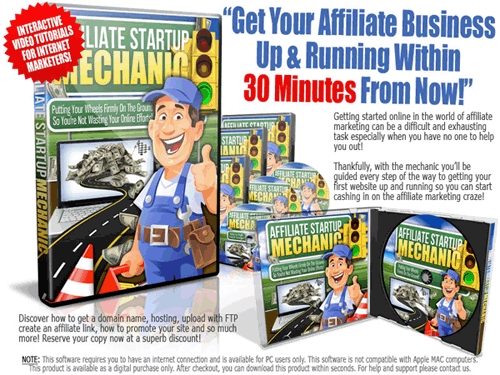 Pay for Affiliate Startup Mechanic - Master Resale Rights