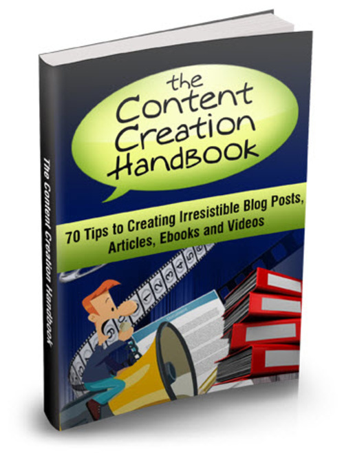 Pay for Content Creation Handbook MRR/ Giveaway Rights