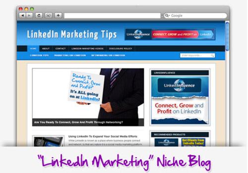 Pay for LinkedIn Marketing Niche Blog