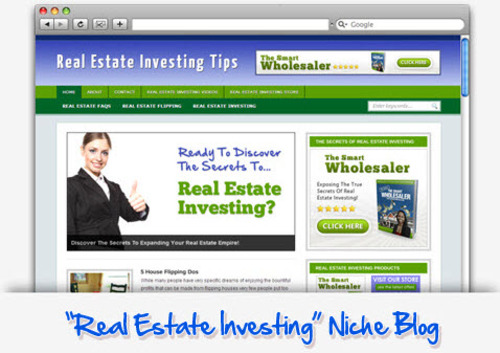 Pay for Real Estate Investing Niche Blog