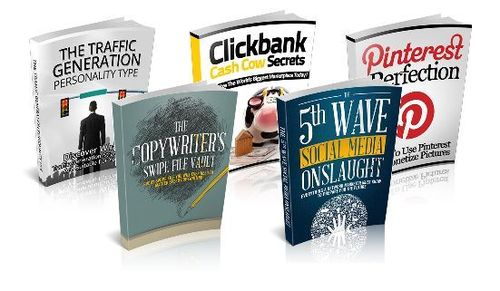 Pay for Marketing Niche Packs (5 eBooks) - MRR