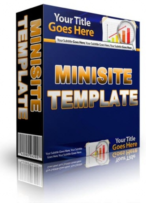 Pay for Minisite Template Unrestricted PLR