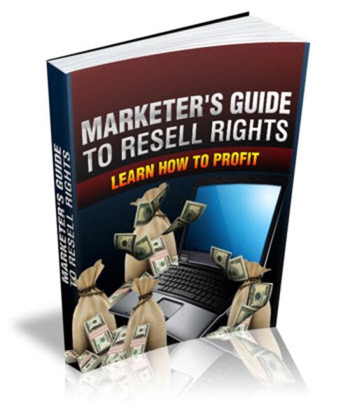 Pay for Marketers Guide To Resell Rights MRR/ Giveaway Rights