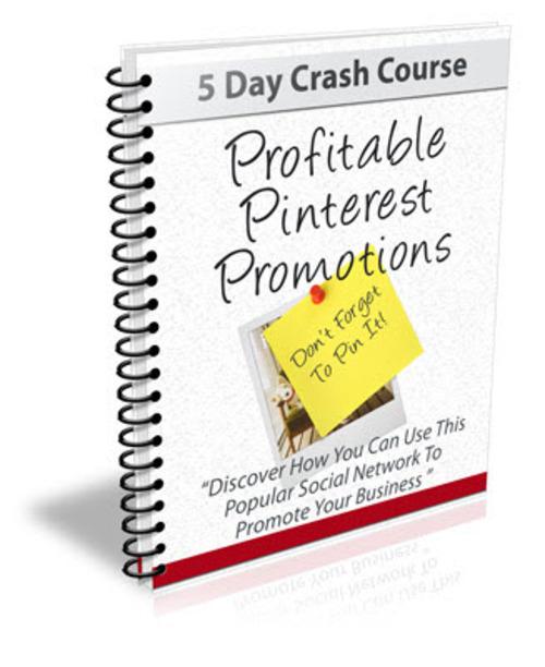 Pay for Profitable Pinterest Promotions PLR Newsletter Series