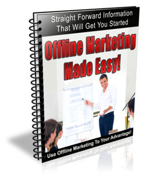 Pay for Offline Marketing Made Easy Newsletter Series - PLR