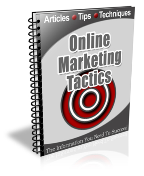 Pay for Online Marketing Tactics PLR Newsletter Series