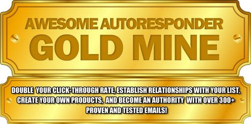 Pay for Awesome Autoresponder Gold Mine - 300+ High Converting Email Swipes RR