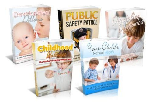 Pay for Family And Parenting Niche Packs (5 eBooks) - MRR