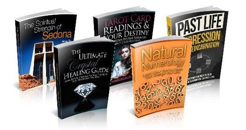 Pay for Spiritual Niche Packs (5 eBooks) - MRR