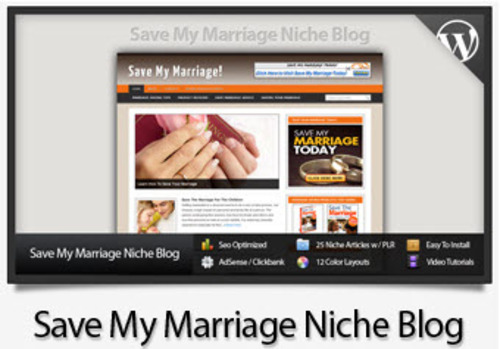 Pay for Save My Marriage Niche Blog - Video Tutorials Included