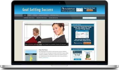 Pay for Goal Setting Success Secrets Niche Blog - Highly Optimized Blogs