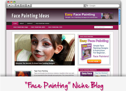 Pay for Face Painting Ideas and Tricks Niche Blog - Highly Optimized WP Blogs